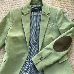 Reposh Zara green blazer